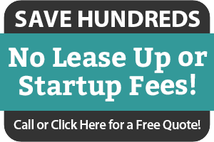 No Startup or Lease Up Fees